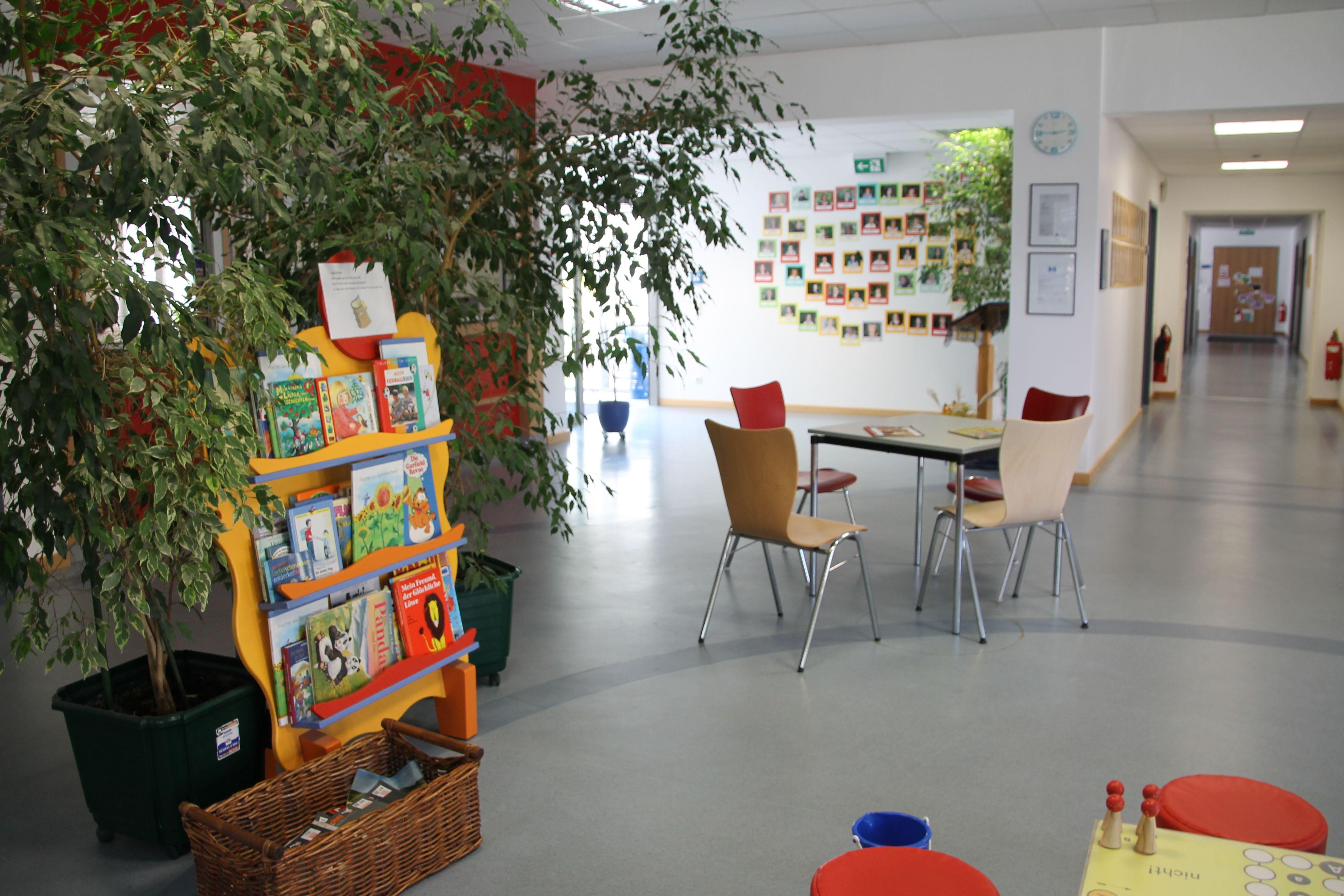 Emfpangsbereich des Sozialpädiatrischen Zentrums