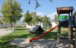 Der Spieplatz des SPZ für Kinder
