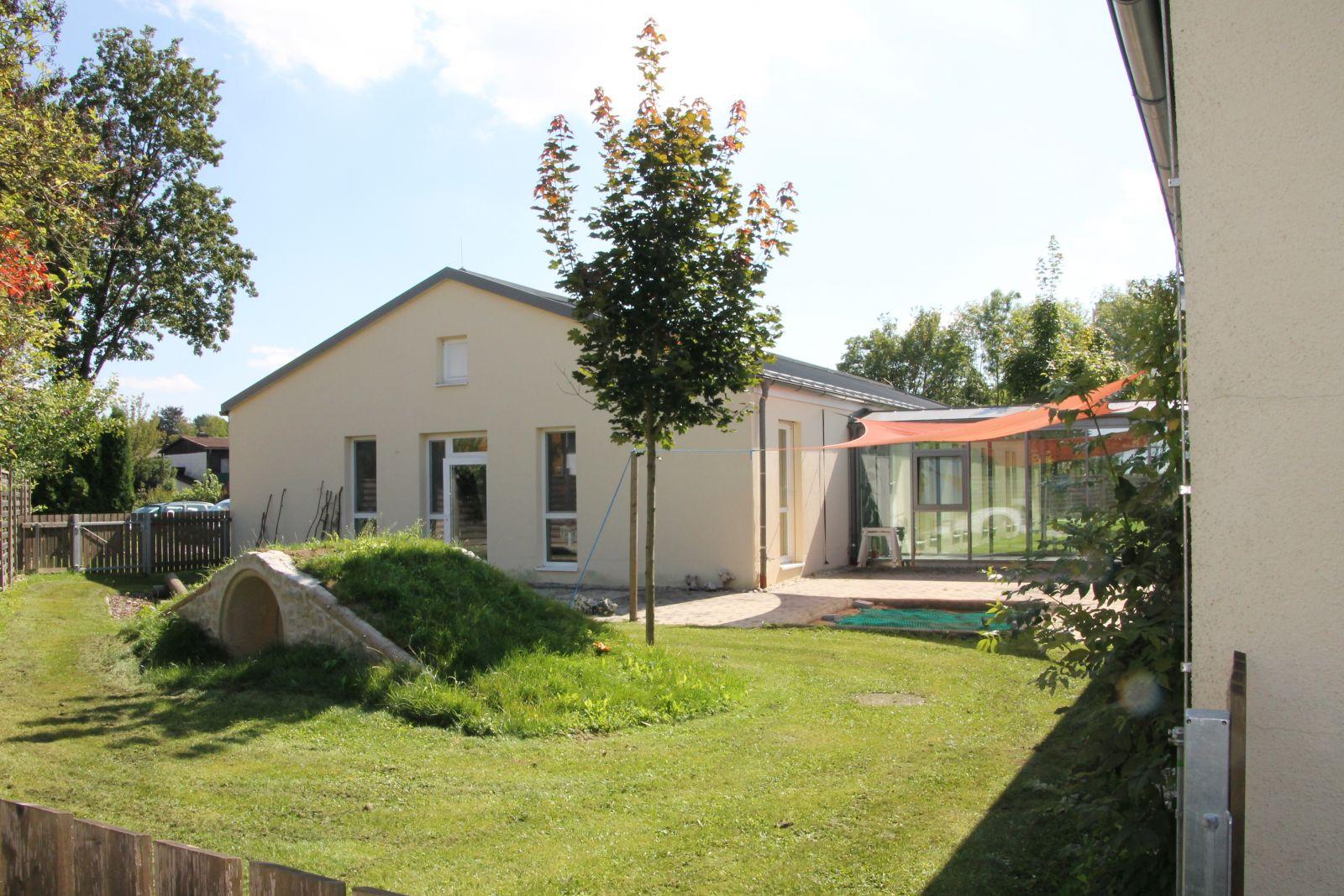 SPZ Garten im Hinterhof